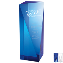 Atria Crystal Award, Medium, 7-1/2""