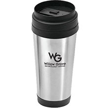 Arabica Stainless Steel Tumbler, 16oz.
