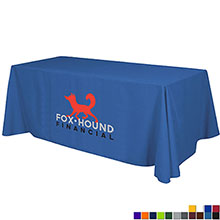 Economy Table Throw, Full Color Thermal Front
