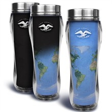 Eclipse Global Theme Tumbler, 16oz., BPA Free