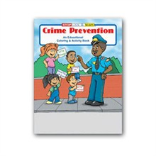 Crime Prevention Coloring Book, Stock