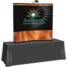 Arise™ Curve Pop-Up Tabletop Display Mural Kit, 6'