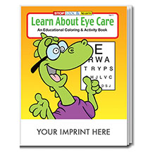 Learn About Eye Care Coloring & Activity Book
