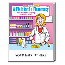 A Visit to the Pharmacy Coloring & Activity Book