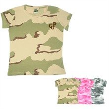 Code V Ladies' Fine Jersey Camouflage T-Shirt