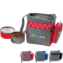 Pet Accessory Bag with Bowls
