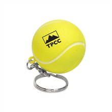 Tennis Ball Stress Reliever Key Chain