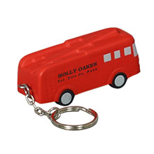 Fire Truck Stress Reliever Key Chain
