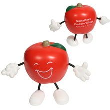 Apple Figure Stress Reliever