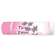 Tell Everyone About Mammograms Lip Balm, SPF 15, Stock