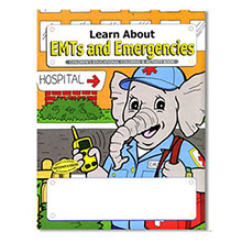 EMTs and Emergencies Coloring & Activity Book, Stock