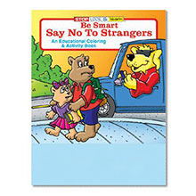 Be Smart, Say No to Strangers Coloring & Activity Book, Stock