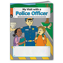 My Visit with a Police Officer Coloring & Activity Book, Stock