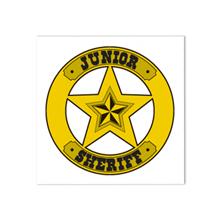 Junior Sheriff Temporary Tattoo, Stock
