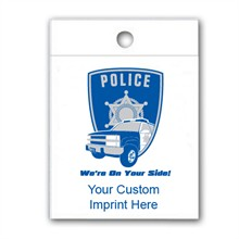 Custom Litterbag, Police We're On Your Side!