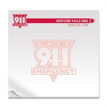 Emergency Call 911, 25 Sheet Sticky Pad