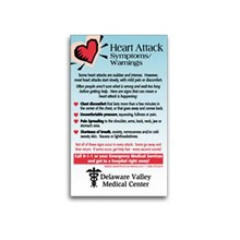 Healthy Message Magnet™, Heart Attack Symptoms & Warnings