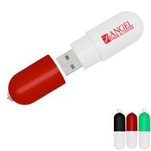 Capsule USB Flash Drive, 512MB