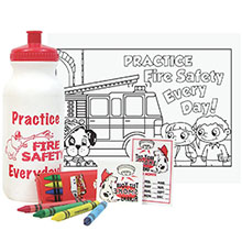 Fire Prevention 20oz. Sport Bottle Kit, Stock