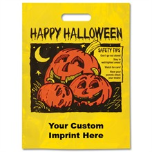 Halloween Bag - Yellow, Jack-O-Lanterns