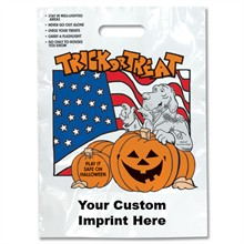 Halloween Bag - White, McGruff Design