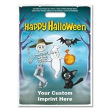 Halloween Bag - Full Color, Skeleton & Ghost Design