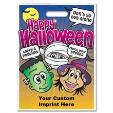 Halloween Bag - Full Color, Mummy, Frankenstein & Witch