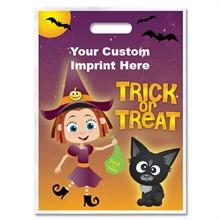 Halloween Bag - Full Color, Girl Witch Design