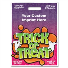 Halloween Bag - Full Color,Trick or Treat Design