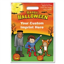 Halloween Bag - Full Color, Kids in Costumes