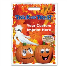 Halloween Bag - Full Color, Fall Leaves Design