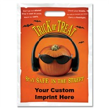 Halloween Bag - Full Color, Cool Pumpkin Design