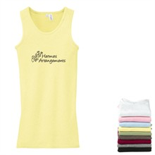 District Threads® - Junior Ladies 2 x 1 Tank