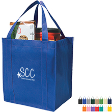 Non-Woven Shopper - Free Set Up Charges!