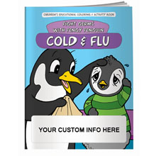 Cold & Flu Coloring & Activity Book