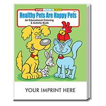 Happy Pets Coloring & Activity Book