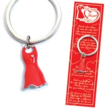 SALE! - Deluxe Red Dress Keyholder