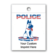 Custom Litterbag, Police Your Friends For Life - Police Dog