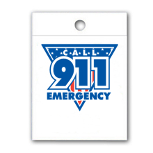 Litterbag, Call 911 Emergency Stock