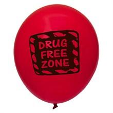 Drug Free Zone Balloon, Stock