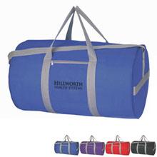 """Budget 210D Polyester Duffel Bag, 18"""""""