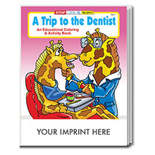 Trip to the Dentist Coloring & Activity Book
