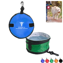 Collapsible Pet Travel Water Bowl