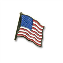U.S. Flag, Stock Lapel Pin - On Sale!