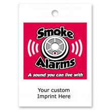 Custom Litterbag, Smoke Alarms  A Sound You Can Live With