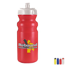 Cycle Sport Bottle with Full Color Imprint, 20oz.