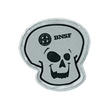Halloween Reflective Skull Sticker, Custom