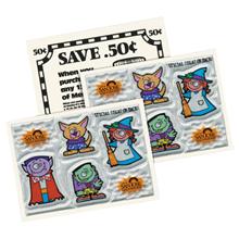 Halloween Reflective Boo-Bunch™ Six Sticker Sheet, Custom