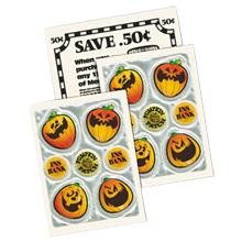 Halloween Reflective Pumpkin Patch® Seven Sticker Sheet, Custom