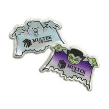 Halloween Reflective Dracula & Ghost Sticker Sheet, Custom